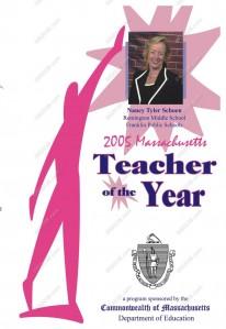 Franklin, MA Public School Teacher of Year