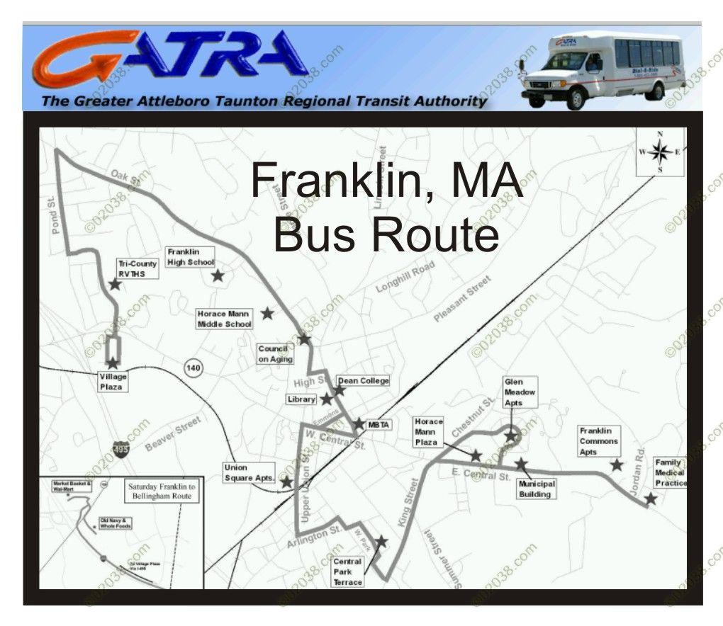 franklin-ma-gatra-bus-route