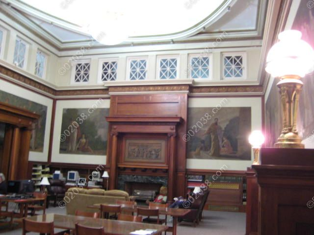 Franklin MA Public Library-INT1