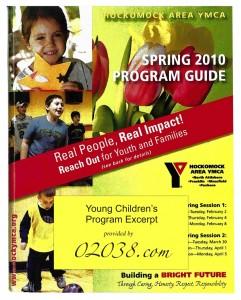 franklin ma YMCA program guide 2010