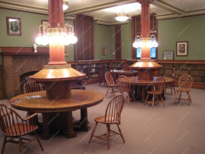 franklin ma public library reading room 1