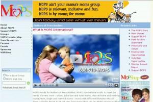 MOPS - Mothers of Pre-Schoolers