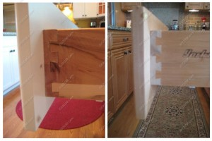 kitchen cabinets - dovetailed drawers