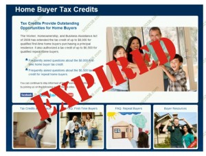 tax credits expired