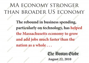 MA economy stronger in fall 2010
