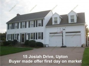 15 Josiah Dr Upton MA - under agreement