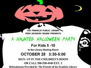 Franklin MA Public Library Halloween Fun Kids 2010