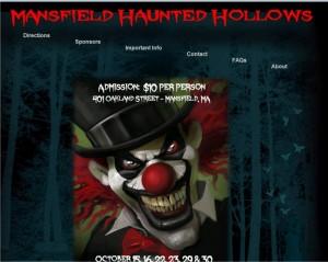 haunted hollows mansfield ma halloween