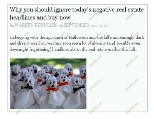 ignore recent bad RE news