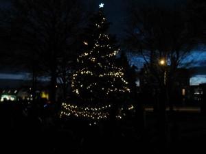 Franklin MA Holiday tree lighting