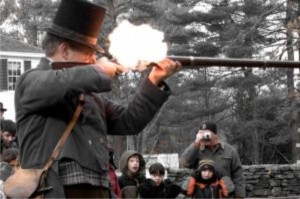 Musket shooting match Sturbridge MA