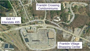 Franklin Village Shopping close to Franklin Crossing Condos