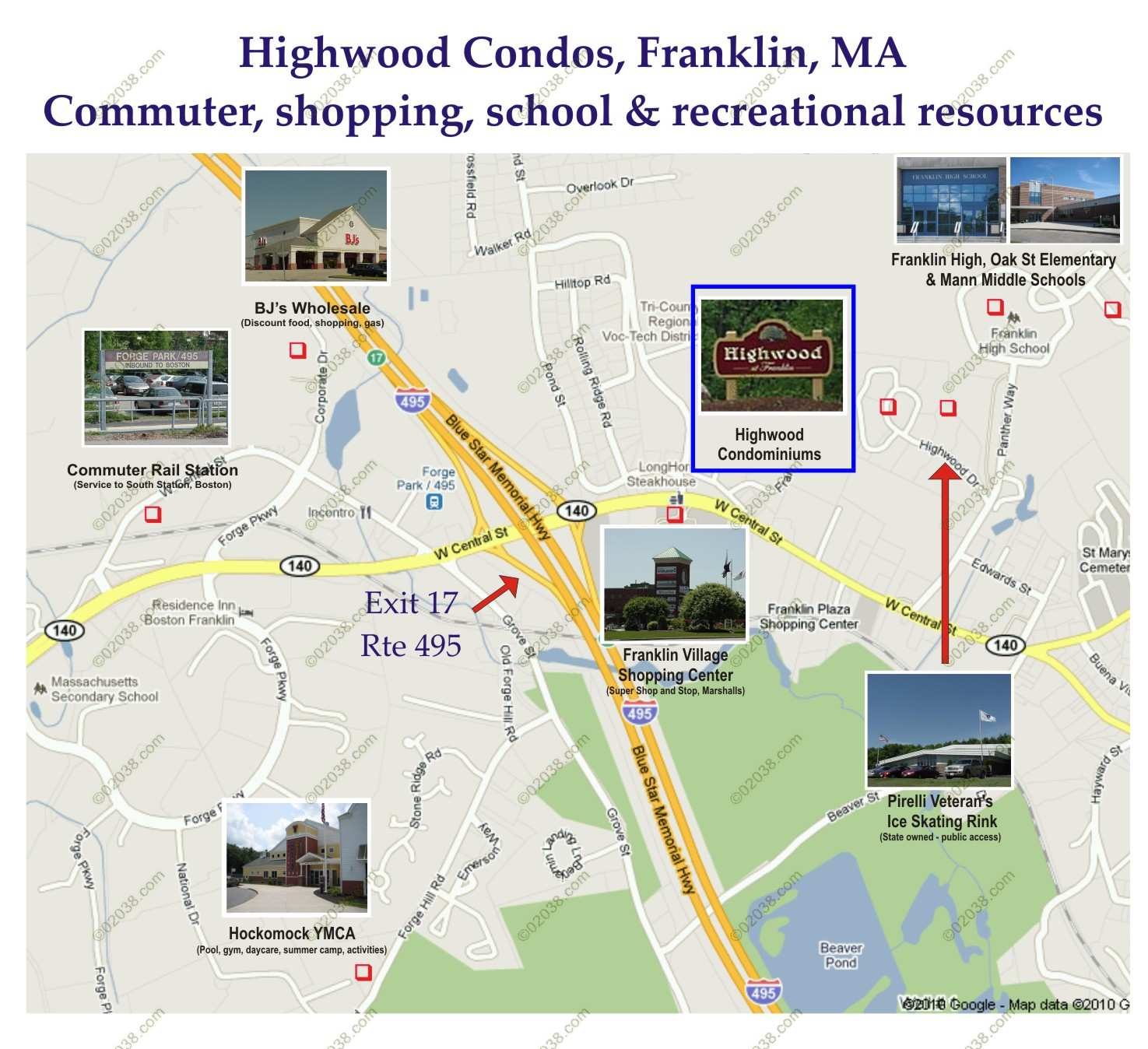 Highwood Condos Have Great Location In Franklin MA