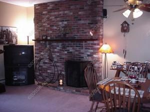 Highwood II Condos Franklin MA - fireplace