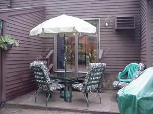 Highwood II Condos Franklin MA - patio