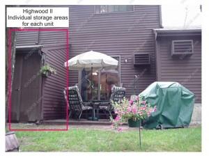 Highwood II Condos Franklin MA - storeage