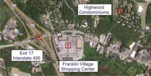 Highwood condos Franklin MA - shopping