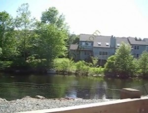 Spruce Pond condos Franklin MA - water view 2