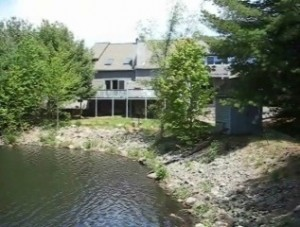 Spruce Pond condos Franklin MA - water view 3