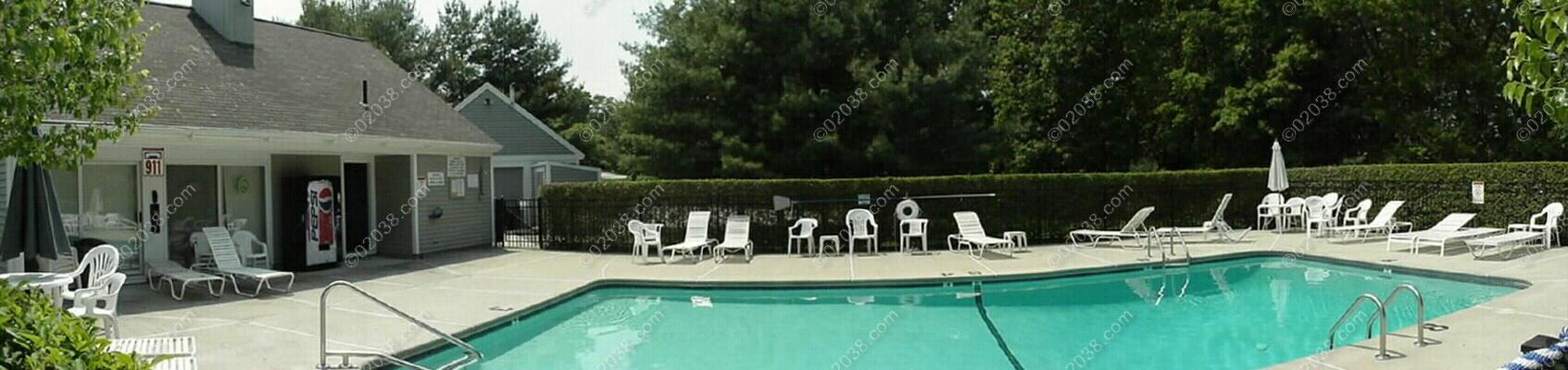 Stone Ridge Townhomes Franklin Ma Clubhouse Pool Pano