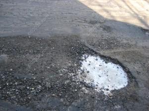 road deterioration Franklin MA 1