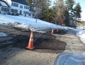 road repair Franklin MA 1