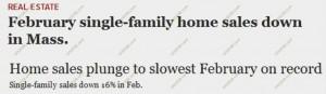 bad MA home sales February 2011