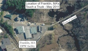 Franklin MA touch a truck 2011 - dpw location