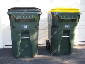 single stream recycling & trash system Franklin MA