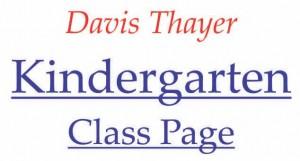 Davis Thayer elementarty school franklin ma kindergarten