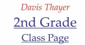 Davis Thayer elementarty school franklin ma 2nd grade