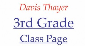 Davis Thayer elementary school franklin ma 3rd grade