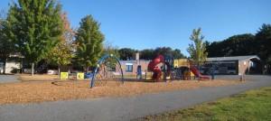 Kennedy Elementary School Franklin MA  - new playground