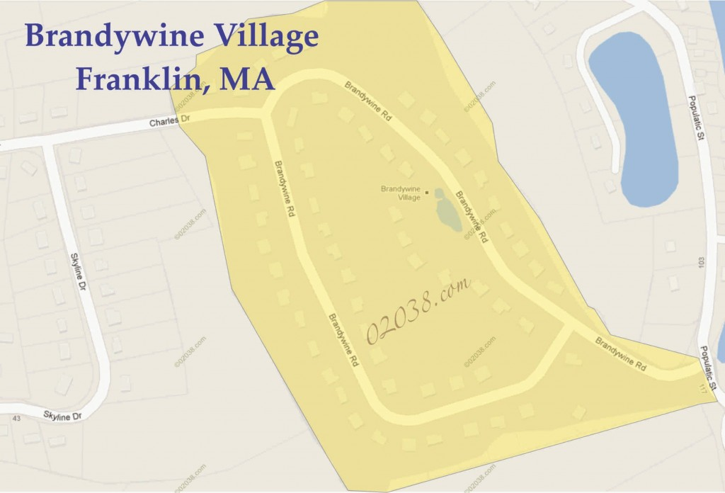Brandywine Village Franklin MA map2