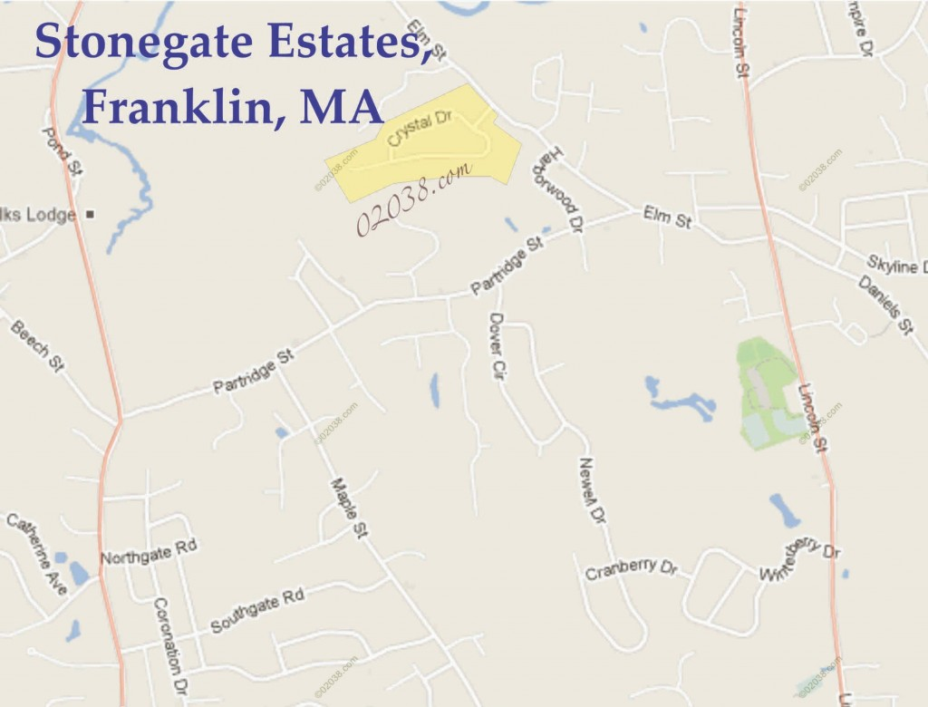 stonegate estates franklin ma map1