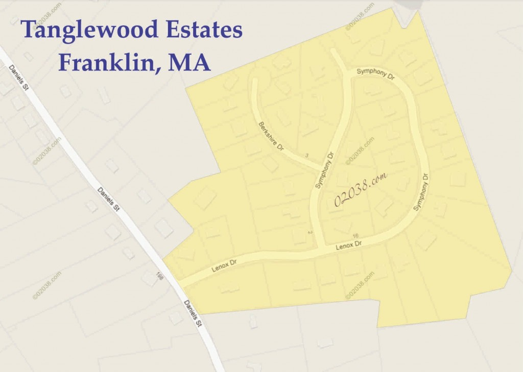 tanglewood estates franklin ma map2