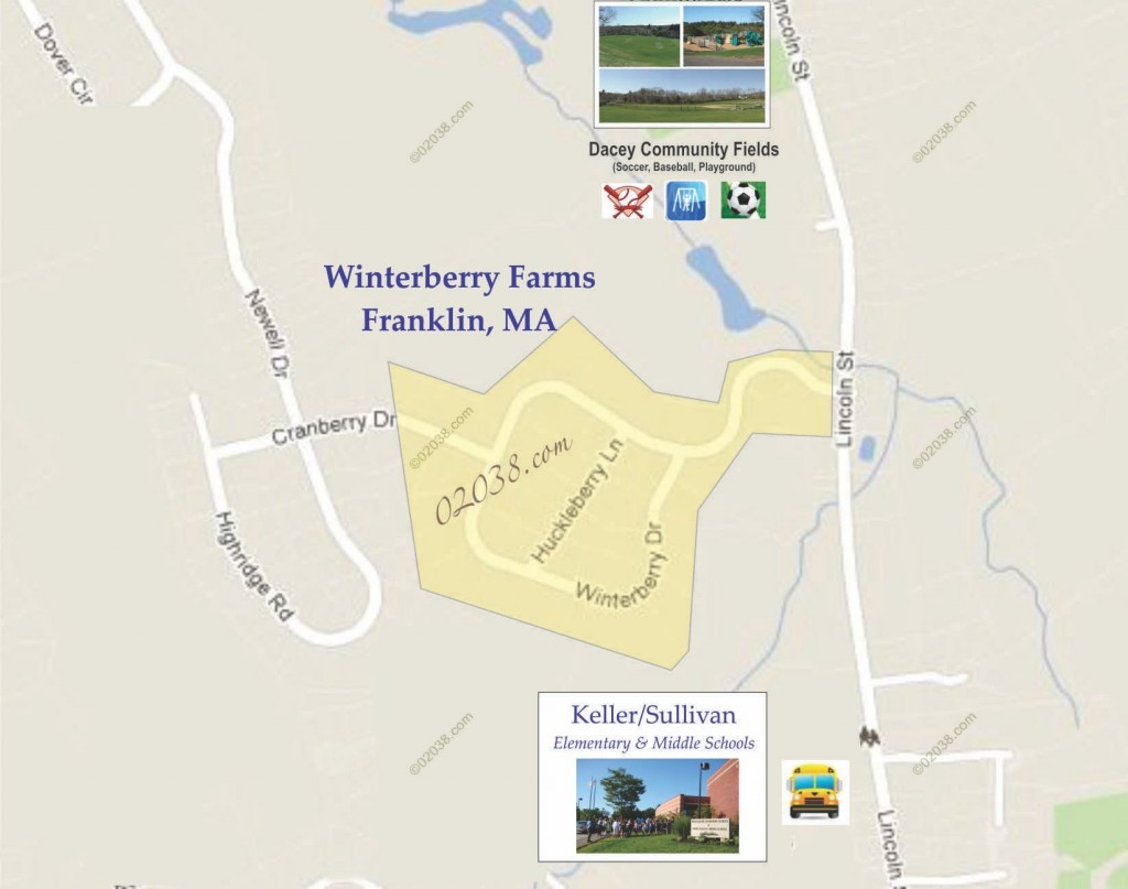 winterberry farms franklin ma map