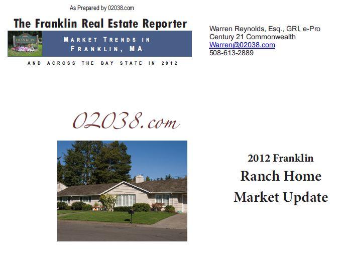 Franklin ma real estate 2012 recap cape homes