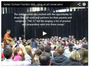 keller elementary school franklin ma - music