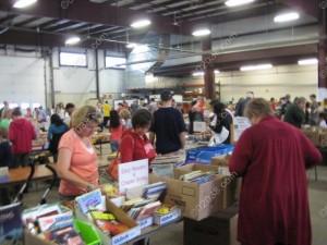 Franklin-MA-library-book-sale