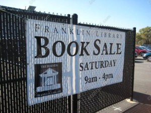 Book Sale Friends Franklin MA Library