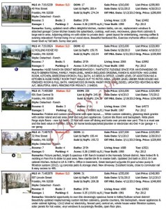 ranch home sales report franklin MA 2013 first half