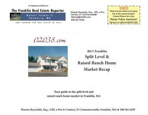 Frankln MA split home market recap 2013 cover