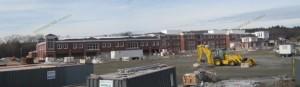 New Franklin MA high school construction