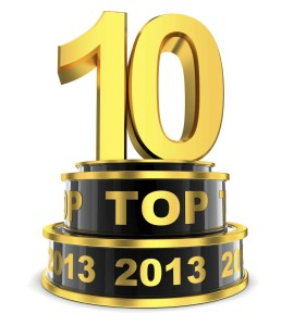 Top 10 of the year (done in 3d)