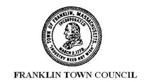 franklin ma town council
