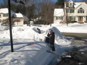 snow february 2014 Franklin MA