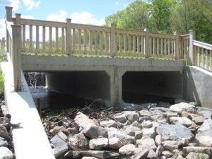 DelCarte Franklin MA - dam spillway