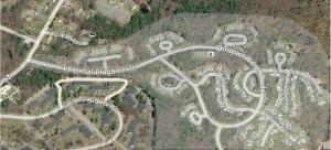 Chestnut Ridge Condos Franklin MA - overview