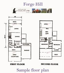 Forge Hill Franklin MA - floorplan